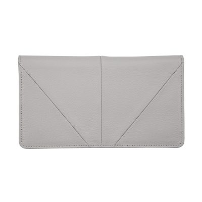 STATUS ANXIETY Status Anxiety Light Grey Triple Threat Wallet