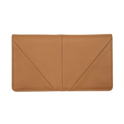 STATUS ANXIETY // Status Anxiety Tan Triple Threat Wallet