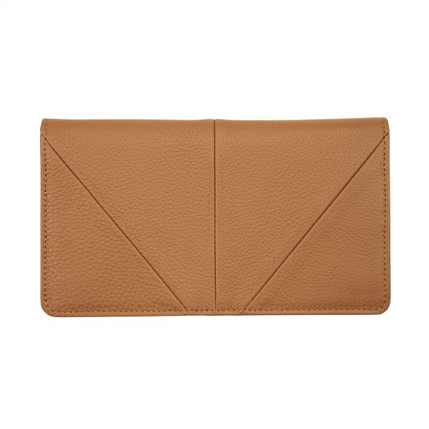 STATUS ANXIETY Status Anxiety Tan Triple Threat Wallet