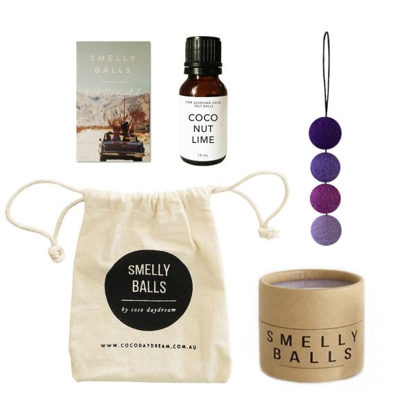 COCO DAYDREAM Smelly Balls Ultra Violet Set