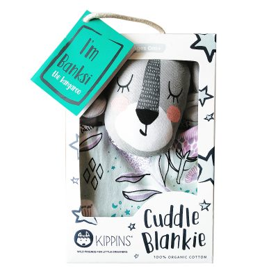 KIPPIN // Banksi Kippin Organic Cuddle Blankie