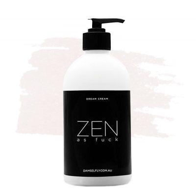 DAMSELFLY // Zen As Fuck Dream Cream Hand Lotion