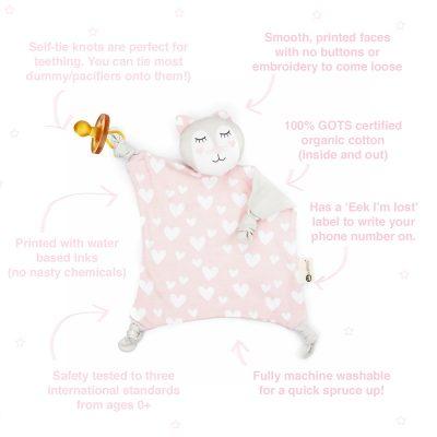 Kitty Kippin Organic Cuddle Blankie