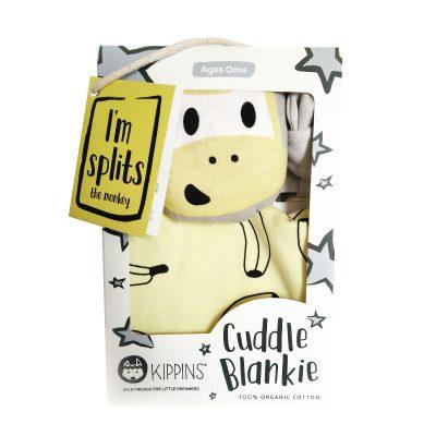 KIPPIN // Splits Kippin Organic Cuddle Blankie