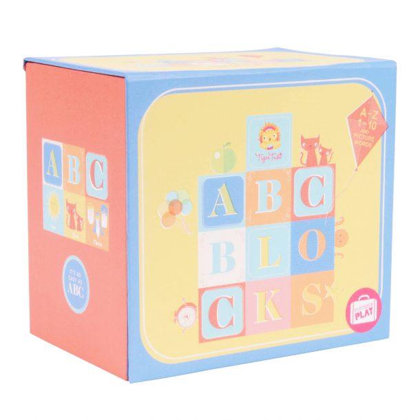 TIGER TRIBE ABC 123 Educational Blocks