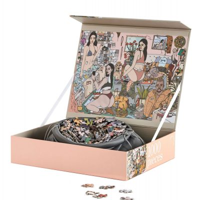 JOURNEY OF SOMETHING Edition K 1000 Piece Designer Puzzle