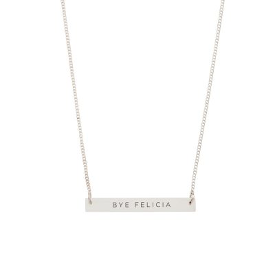 DAMSELFLY // Bye Felicia Damselfly Bar Necklace