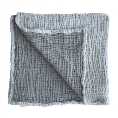 COLLECTIVE SOL Grey Ivy Baby Blanket