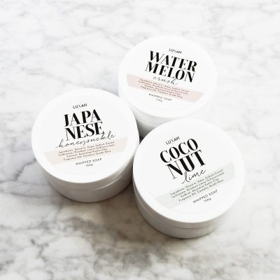 luxah whipped soap