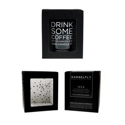 DAMSELFLY // Drink Some Coffee Damselfly Candle