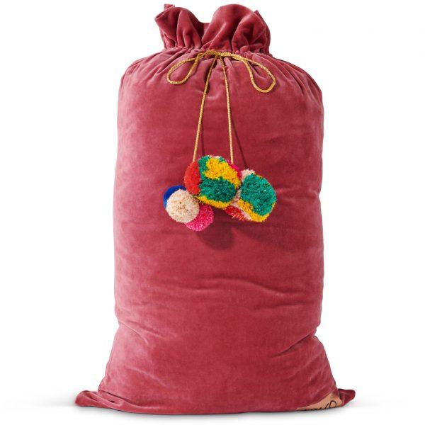 Kip&Co Rose Velvet Santa Sack