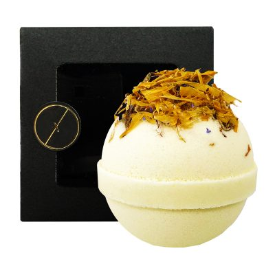 LUXAH // Golden Sunset Botanical Bath Bomb