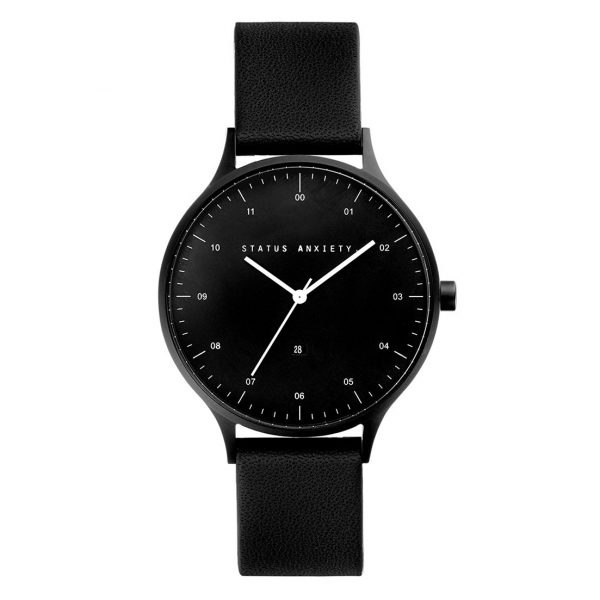 All Black Inertia Unisex Watch