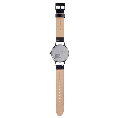 STATUS ANXIETY // Black + White Inertia Unisex Watch