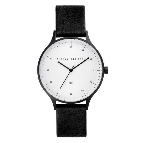 Black + White Inertia Unisex Watch