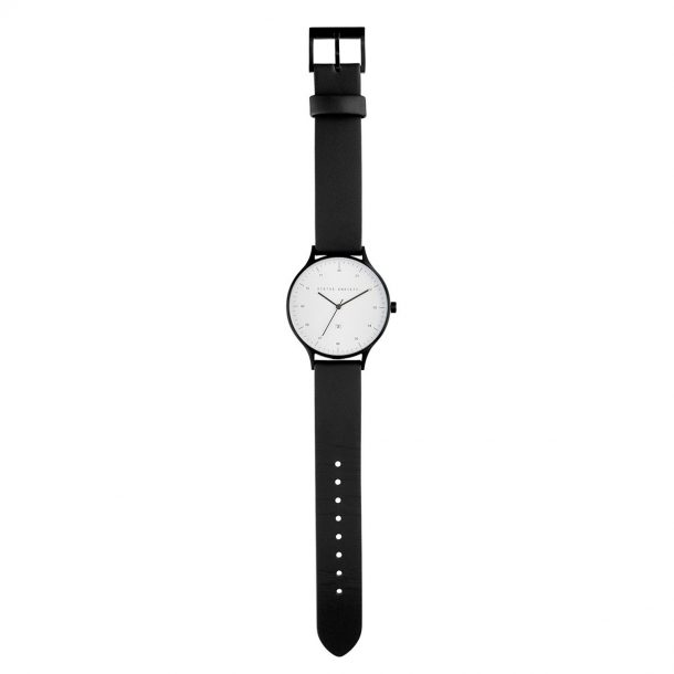 STATUS ANXIETY Black + White Inertia Unisex Watch