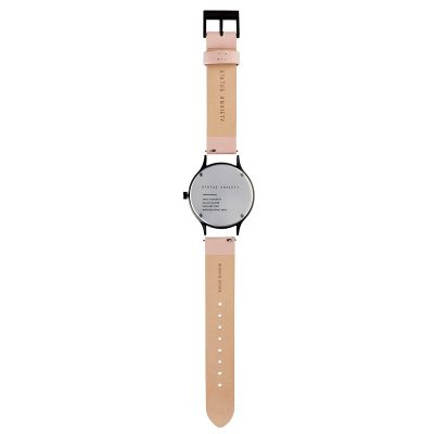STATUS ANXIETY // Blush Pink + Matte Black Inertia Unisex Watch