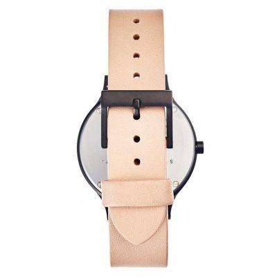 STATUS ANXIETY // Natural + Matte Black Inertia Unisex Watch