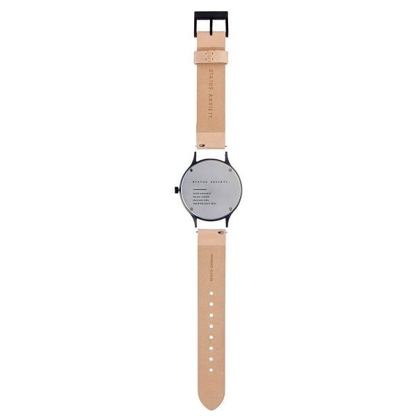 Natural + Matte Black Inertia Unisex Watch