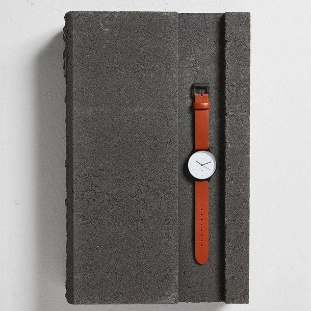Tan + Matte Black Inertia Unisex Watch