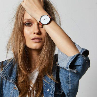 Tan + Matte Black Inertia Unisex Watch