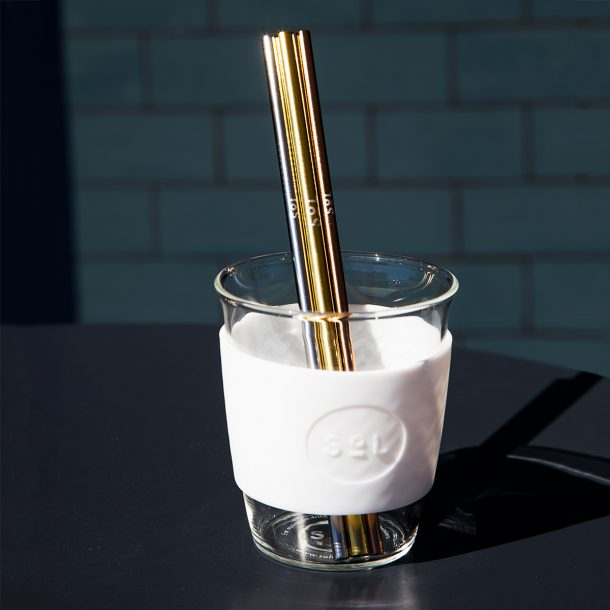 SOL PRODUCTS Reusable Metallic Straw Kit