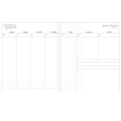 Emma Kate Co. Weekly Planner detail