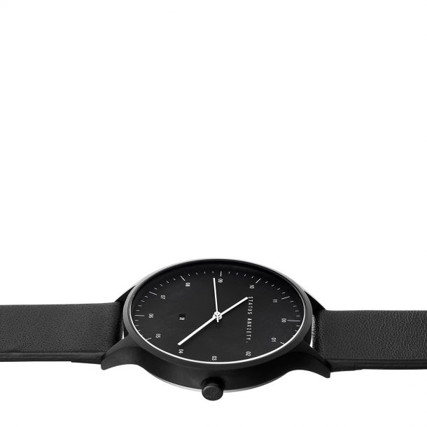 STATUS ANXIETY All Black Inertia Unisex Watch