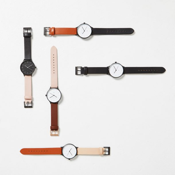 STATUS ANXIETY Mix and Match Interchangeable Leather Straps