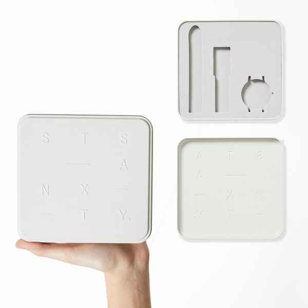 STATUS ANXIETY WHITE TIN GIFT BOX