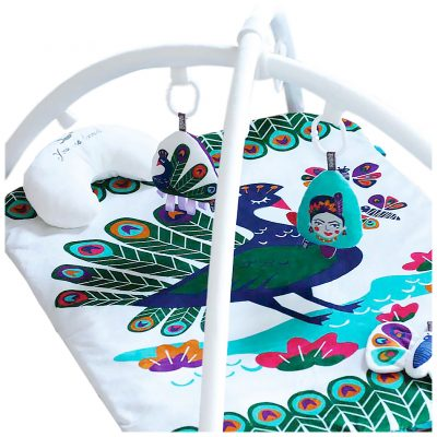 OBDesigns Peacock Paradise Activity Play Set