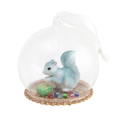 DOWN TO THE WOODS // Heirloom Secret Squirrel Christmas Dome