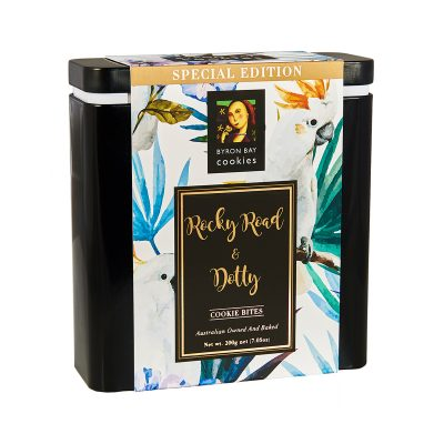 BYRON BAY COOKIE CO. Limited Edition Assorted Cockatoo Gift Tin