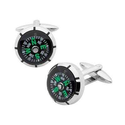 PASTICHE // Compass Cufflinks