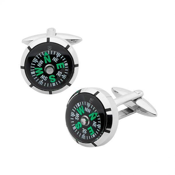 PASTICHE Compass Cufflinks