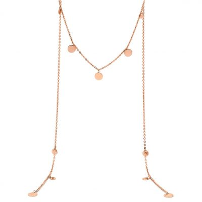 PASTICHE // Rose Gold Meet your Soul Necklace