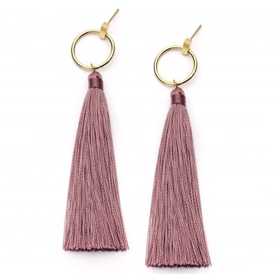 PASTICHE Dusk Tassel Earrings