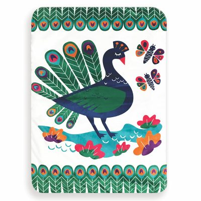 OBDesigns // Colourful Peacock Activity Play Set