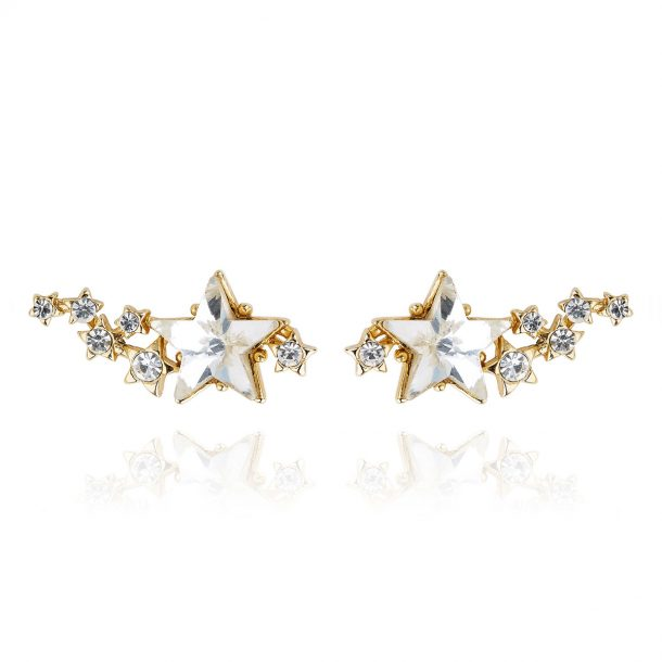 LADY FOX Shooting Star Earrings