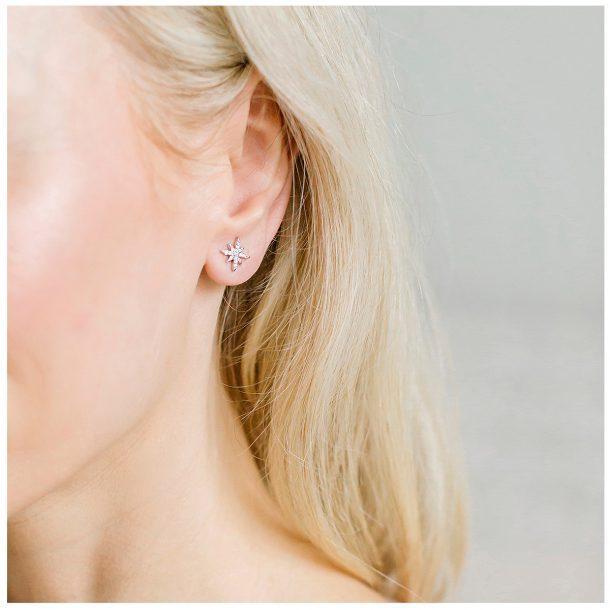 LADY FOX Snowflake Earrings