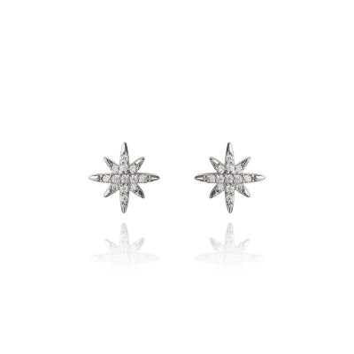 LADY FOX // Snowflake Earrings