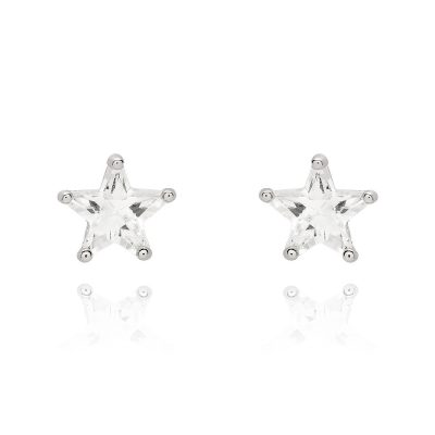 LADY FOX // Star Crystal Earrings