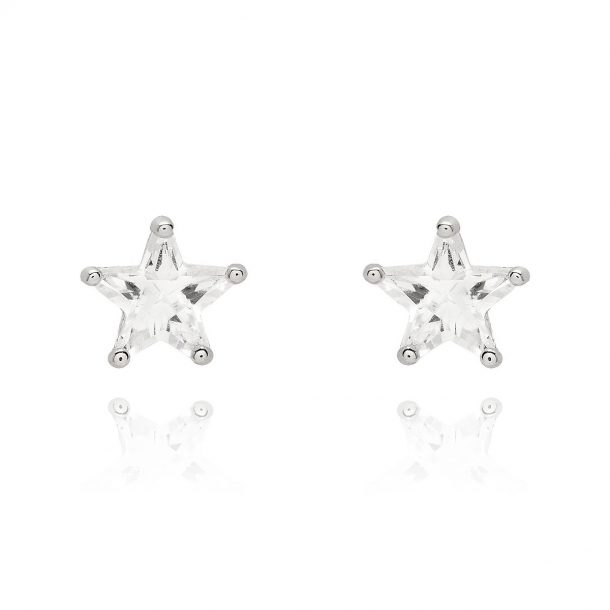 LADY FOX Star Crystal Earrings