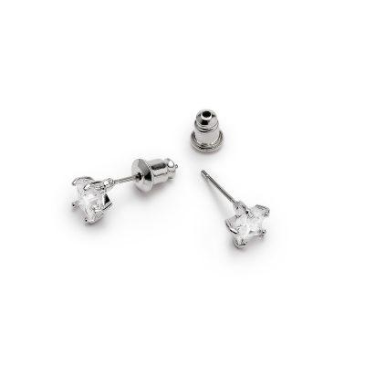LADY FOX Star Crystal Earrings