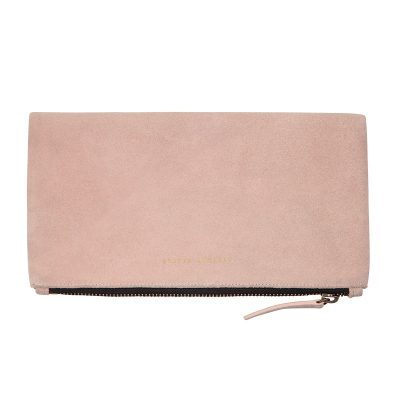closed front Status Anxiety Dusty Pink Feel The Night Clutch