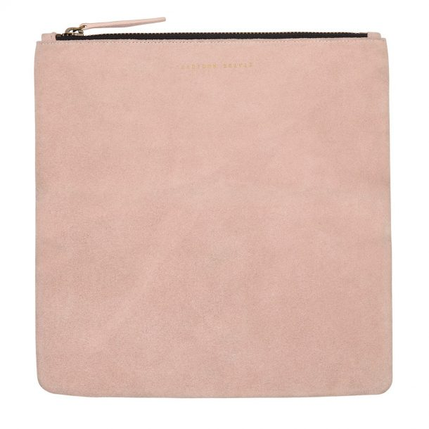 opened Status Anxiety Dusty Pink Feel The Night Clutch