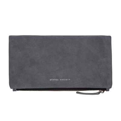 STATUS ANXIETY // Status Anxiety Slate Feel The Night Clutch