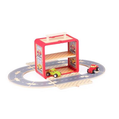 TIGER TRIBE Wooden Car Station Boxset