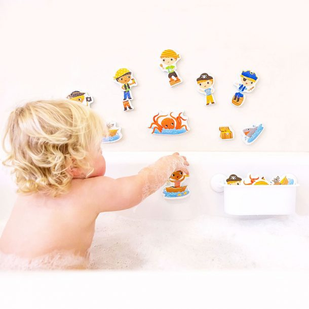 pirate themed bath toys for boys