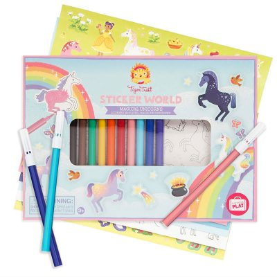 TIGER TRIBE Magical Unicorns Sticker Activity Pack